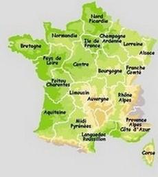 La Dulce Francia Principales Regiones Tursticas de Francia